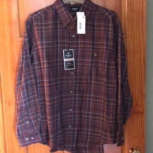 NWT Haggar Huntsman Shirt W2W Work to Weekend